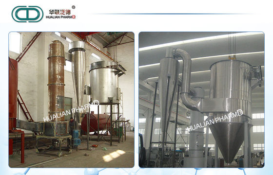China High Speed Pharmaceutical Machinery / Rotating Dryer Medicine Processing supplier