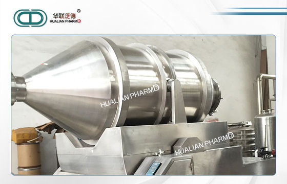 Wet Powder Pharmaceutical Mixing Equipment Industrial Heating Two Dimensional mixer FD-EYH