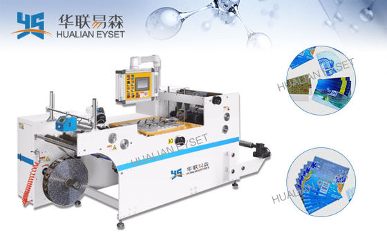 Glue Sealing Slitting And Rewinding Machine / Shrinkable Film Slitting Equipment