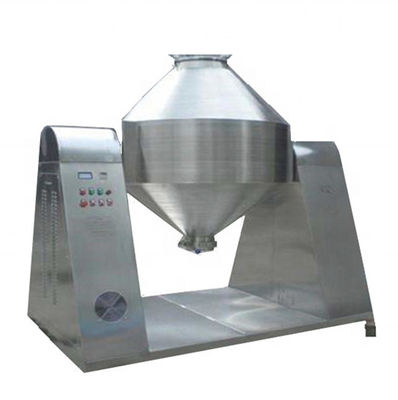 440v Rotary Double Cone Industrial Vacuum Dryer In Food Industry