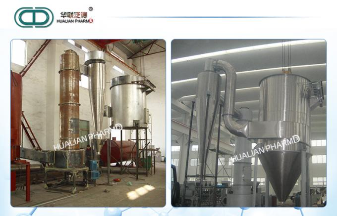 High Speed Pharmaceutical Machinery / Rotating Dryer Medicine Processing