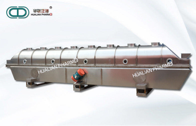 Foodstuff Industry Pharmaceutical Machinery Ectilinear Vibrating Fluidizing Drying
