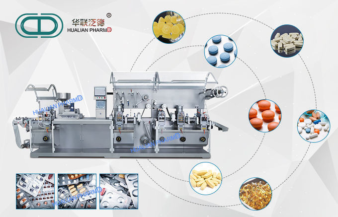 Capasule Tablets Pharma Packaging Machines Milk Slice Candy Compatible
