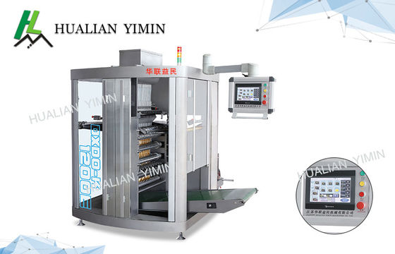China Chili Honey Sauce KECHUP  Four Side filling & Sealing  Packaging Machine Hot Mustard Dxdo-J1200 paste packing factory