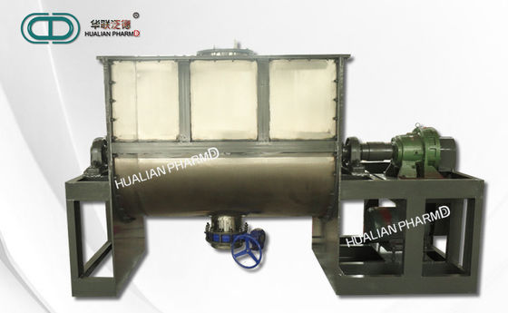 High Speed Pharmaceutical Mixing machine , Horizontal Ribbon Mixer FD- WLDH