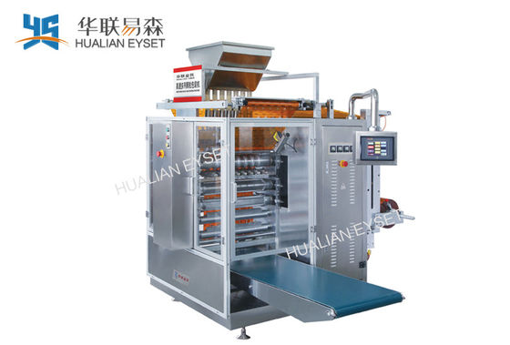 Multi line Particle Rapid  4 Side sachet filling Sealing Packaging Machine Ss304 Shell DXDO-K900F