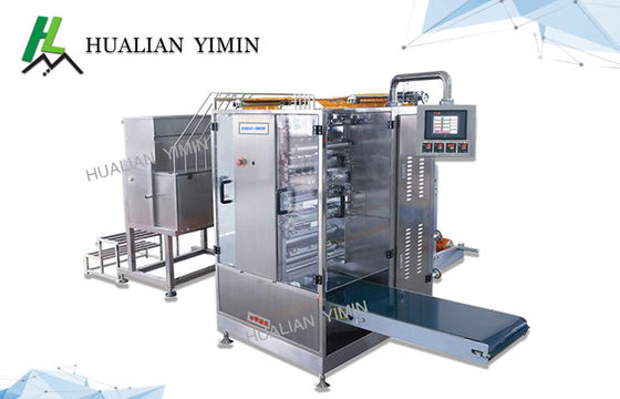 China Sus 316 Sachet Packaging Equipment Automatic For Ketchup Shampoo Paste Multi Line packing high efficiency factory