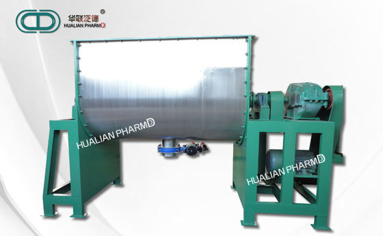 China Static Pharmaceutical Mixing Equipment , Horizontal Ribbon Blender FD-WLDH factory