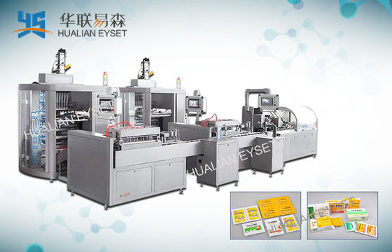 China Automatic Grade Four Side Seal Packaging Machine Long Term Maintenance factory